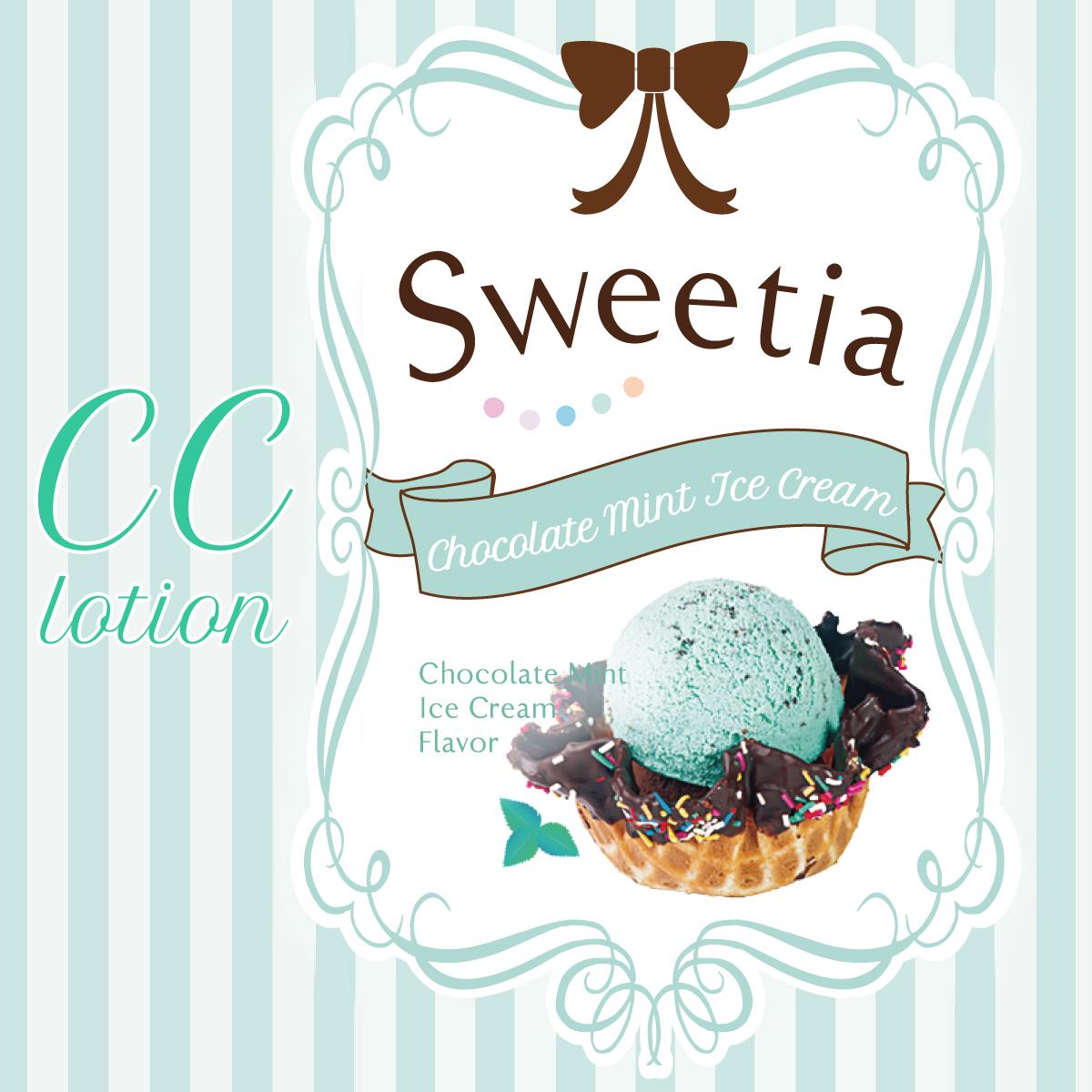 초콜릿 민트 아이스크림 POP 이미지